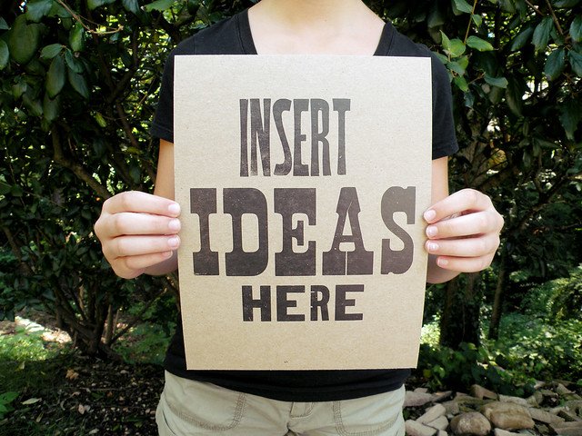 Insert Ideas Here