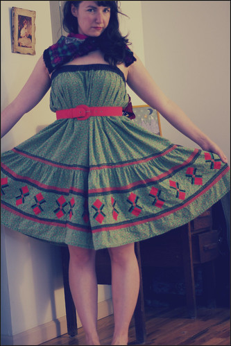 square dance skirt