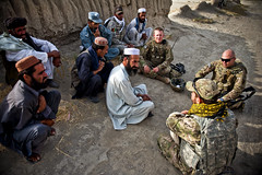 Village elders (The U.S. Army) Tags: afghanistan apo ae sharana