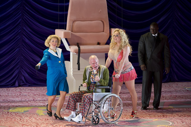 Artists of The Royal Opera in Richard Jones' Anna Nicole. The Royal Opera season 2010/11http://www.roh.org.uk/whatson/production.aspx?pid=13802&claim_session=1 Photo by Bill Cooper