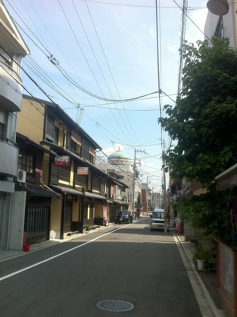 京都西本願寺前