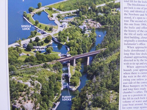 Kingston Mills Lock overview