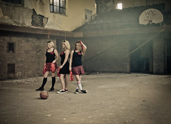here we are now, entertain us (atomic  queso) Tags: basketball cheerleaders smoke detroit anarchy gym angst smellsliketeenspirit herewearenowentertainus totw ilovetheseladies nirvanatribute smellsliketeenspiritcheerleaders waittilyouseegregsshotofthis