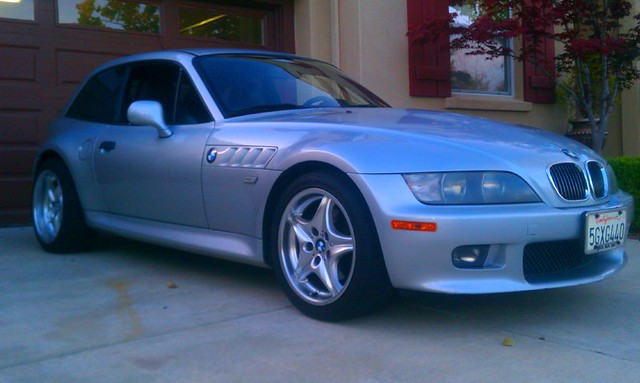 2001 Z3 Coupe | Titanium Silver | Black | Non-M with Roadstars