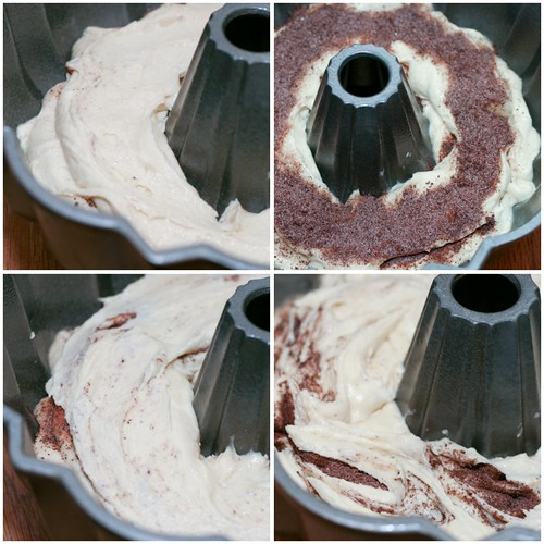 Aunt Patty's Coffee Cake Bundt - collage