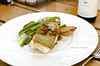 The  Well - Seared Cod (coffeeandbeer80) Tags: food white fish building green kitchen dinner bacon beans amazing farm maine plate fork fresh crispy local cod potatos thewell seared capeelizabeth delicous jordans vinaigrette ingrediaents