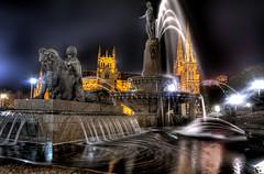 Archibald Fountain (evangelique) Tags: church water fountain night sydney hydepark cbd archibaldfountain archibald