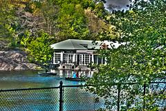 Boat House HDR (DavidB123) Tags: park new york white house black guy rock angel dark boat crazy cafe nikon central hard re dslr hdr preformer cs5 d3000