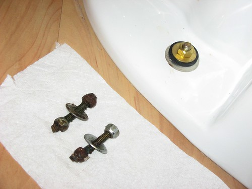 Toilet bolts bf&af 11