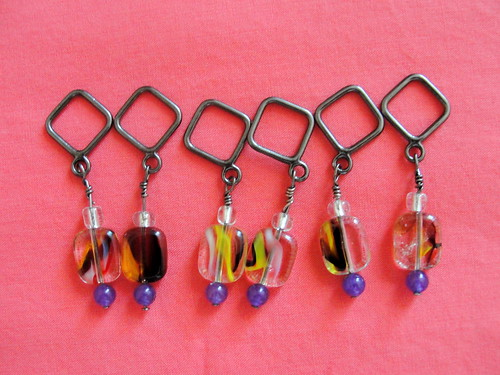 My first stitch markers by vin E