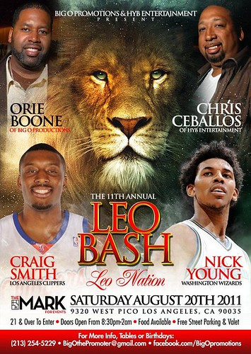#LEO NATION - The 11th Annual Leo Bash & Birthday Celebration with @OriesList #TheMarkForEvents 8-20-11 #LANightLife by VVKPhoto