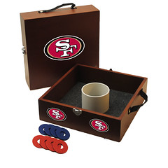 San Francisco 49ers Washers Toss Game