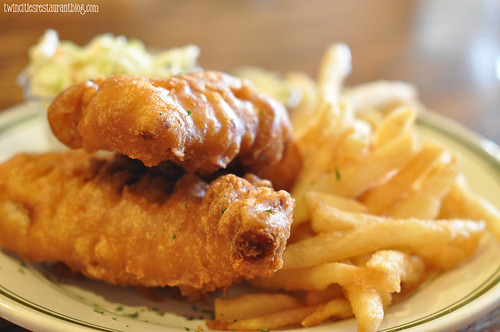 Fish 'N' Chips at Irish Times ~ Brookfield, IL