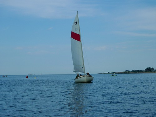 Pedaling with the Sailboats