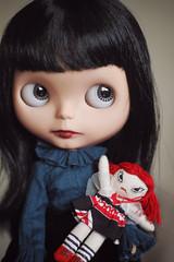 Do you like my doll?