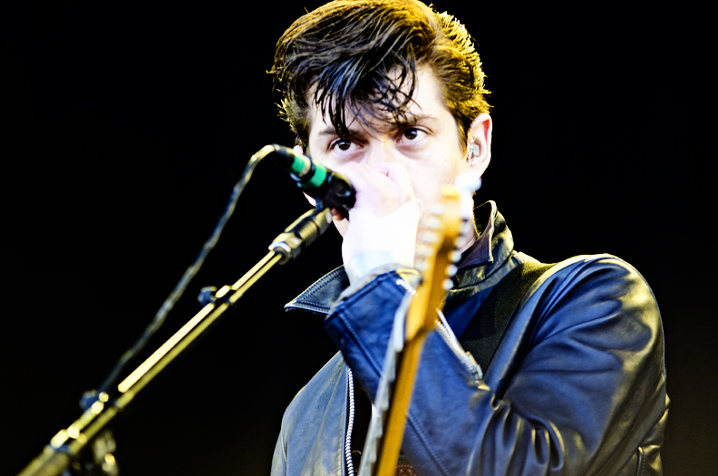 The Arctic Monkeys at Outside Lands Day 2