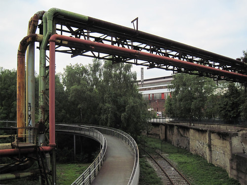 Bochum - Abandoned steelworks in the Westpark