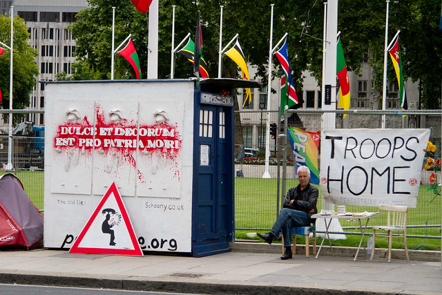 Peace Public Strike Box
