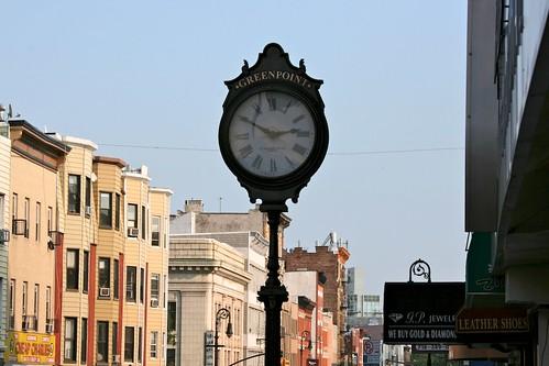 Greenpoint clock