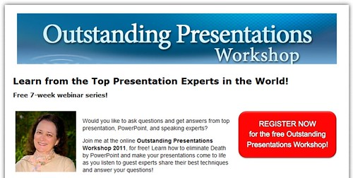 Outstanding Presentations 2011