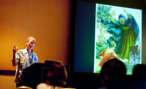 Paul O. Zelinsky at SCBWI LA 2011 (photo by Rita Crayon Huang)