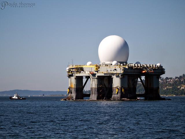 Missile Radar Vessel Departs
