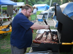 Vern Cyr Prepares Ribs (crazydave757) Tags: cookingcontest dscn2131 august52011 crrr2011