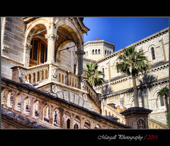 Courthouse and Cathedral - HDR - Monaco (Margall photography) Tags: france photography cathedral montecarlo monaco marco courthouse hdr galletto margall