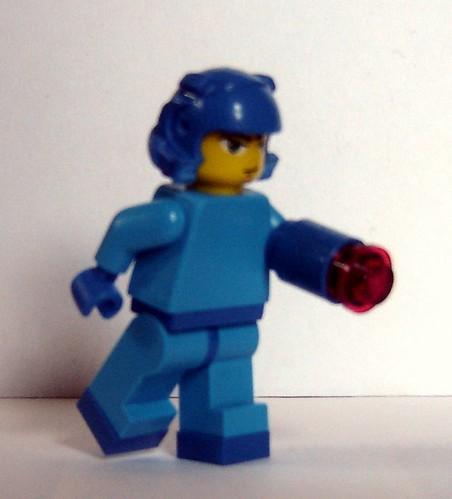 Custom minifig Mega Man