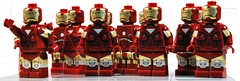 Ironman (Fine Clonier) Tags: lego mark ironman minifig decals minifigure customfigure kaminoan fineclonier uubergeek jaredkburks
