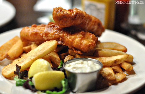 Fish N Chips at Patriot's Tavern ~ Stillwater, MN