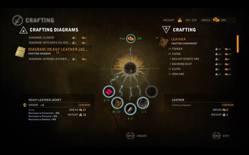 The Witcher 2 Crafting Diagrams Location Guide