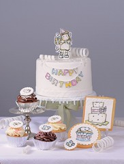Magnolia (Bettys Sugar Dreams) Tags: cookies cake cupcakes betty magnolia kekse stempel torte zucker fondant sugarpaste stemps bettinaschliephakeburchardt bettyssugardreams magnoliainkmagazine