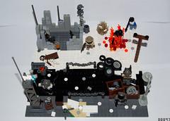 Rebuilding Society dio (final version) (-Juzu-) Tags: lego ama ba bf legovignette legominifig legocreation brickarms legomoc brickforge legodiorama amazingarmory customlegominifigs legofigs rebuildingsociety legoapocalyptic