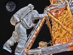 Apollo Lunar Module on the Moon (nicolas_parizo) Tags: usa moon museum smithsonian washington space air neil astronaut nasa apollo armstrong aldrin hdr apollo11 spaceexploration firststep photomatix canons95 nicolasparizo