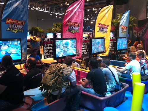 Ratchet & Clank at gamescom