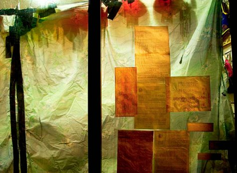 Sara Jane Boyers, Green Curtain, San Francisco, 2006, Fuji Crystal Archive Print