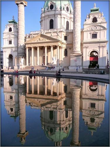 Karlskirche - St. Charles Church, Vienna by Ginas Pics