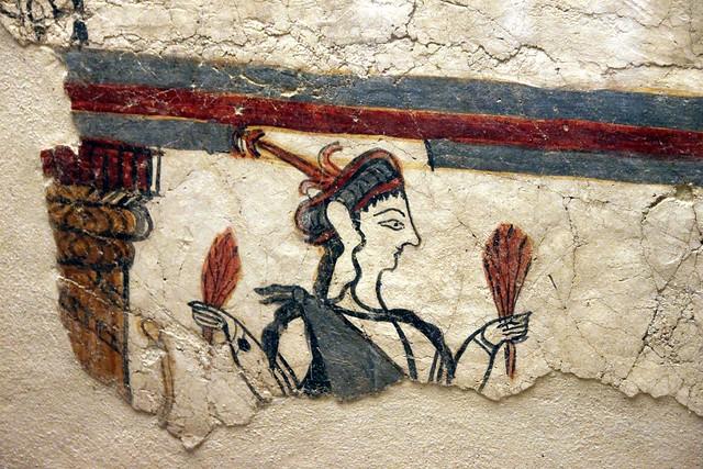 Potnia Theron, Mycenae