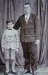 Portret vader en zoon Arrias.