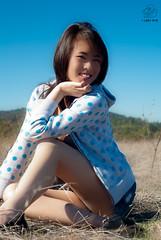 Michelle on the Hilltop (lazyeye.photo) Tags: cute sexy beauty asian model legs lazyeye asianbeauty
