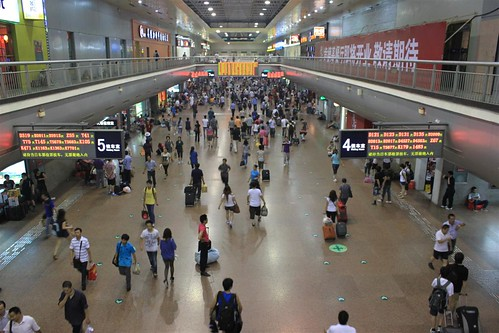 Beijing Train Station, China