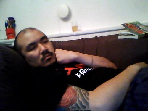 sleeping garrett