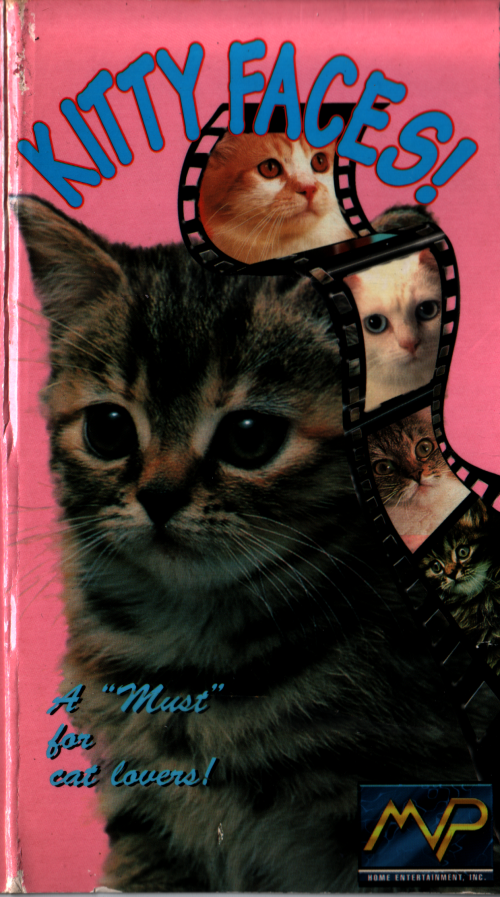 Kitty Faces! VHS front cover