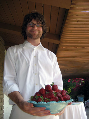 Guywithstrawberries