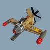 Haitaka Zero - Sky Fighter (Fredoichi) Tags: plane lego space military micro shooter shootemup skyfi shmup microscale dieselpunk skyfighter fredoichi