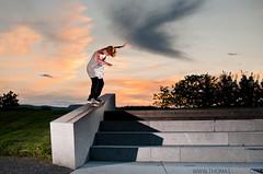 Sverre Be - Bs 50-50 (Thomas sen) Tags: sunset norway 35mm nikon power bs full ledge skate skateboard 18 softbox 5050 fornebu lastolite d90 sb900
