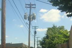 Xcel Energy stepping down 13kv to 4kv (Power#94) Tags: minnesota st paul energy down powerlines step transformers mn utilitypoles xcel 4kv 138kv