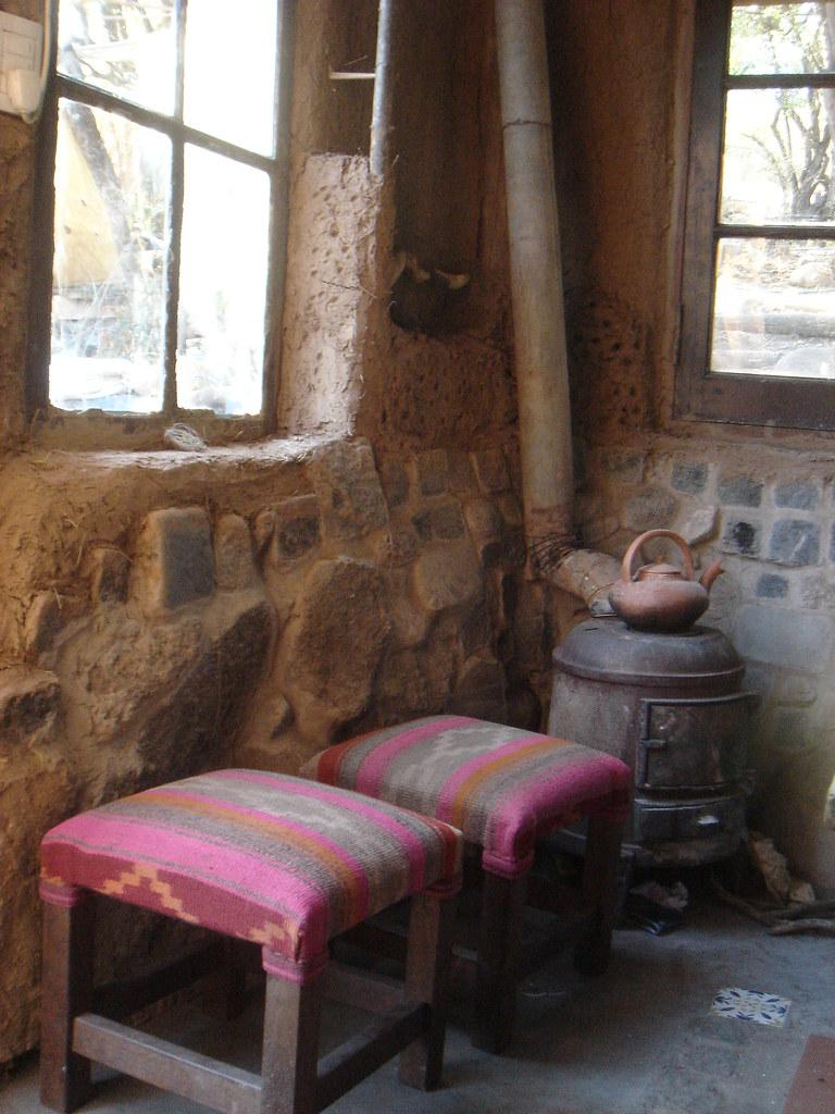 Nuestra casa de barro en las sierras de Córdoba