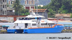 SuperCat 38 at Iloilo Port (fangedboy8) Tags: asia southeastasia philippines gifts visayas iloilo region6 iloilocity westernvisayas